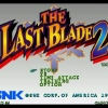 The Last Blade 2 (Japanese)