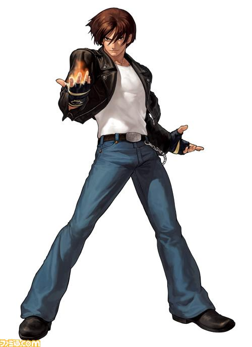 Source  Famitsu com -- gt King Of Fighters Characters Kyo