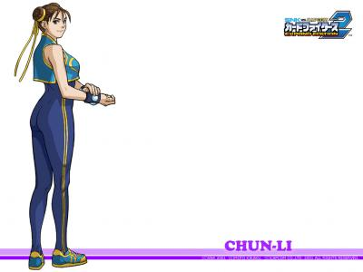 SNK vs Capcom: Card Fighters 2 Wallpaper (Chun Li)