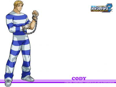 SNK vs Capcom: Card Fighters 2 Wallpaper (Cody)