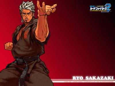 SNK vs Capcom: Card Fighters 2 Wallpaper (Ryo)