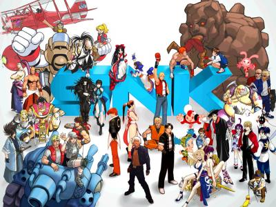SNK Thank You Wallpaper (2001)