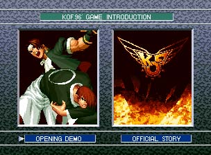 The King of the Fighters '96 Collection CD Screenshot 1