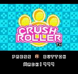 Crush Roller Title