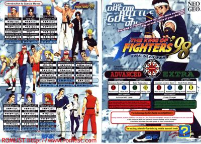 The King of Fighters '98 Flyer Mini Marquees 1