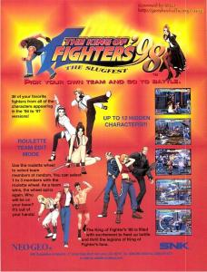 The King of Fighters '98 Flyer