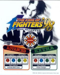 The King of Fighters '98 Flyer Mini Marquee 2