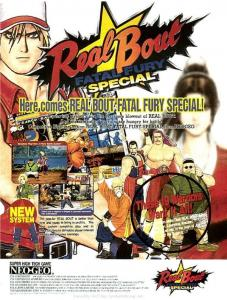 Real Bout Fatal Fury Special Flyer