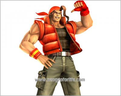 KOF Maximum Impact Wallpaper - Ralf Jones