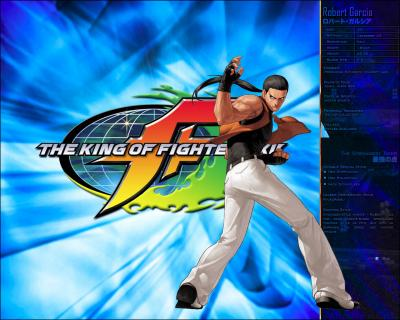 KOF XII - Robert Garcia Profile Wallpaper