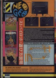 C&VG Neo-Geo System Review