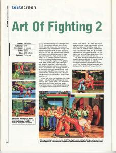Edge June 1994 - Art of Fighting 2 Review 1 of 2