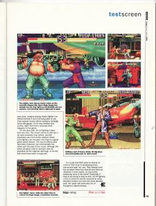 Edge June 1994 - Art of Fighting 2 Review 2 of 2