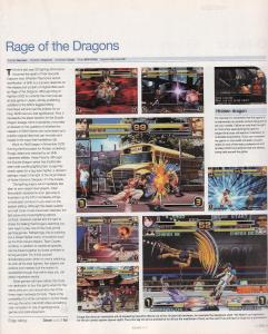 Edge Issue 119 - Rage of the Dragons Review