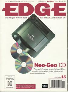 Edge December 1994 - NGCD Cover