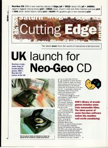 Edge December 1994 - NGCD UK Launch 1 of 3