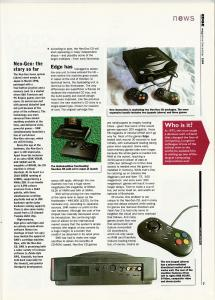 Edge December 1994 - NGCD UK Launch 2 of 3