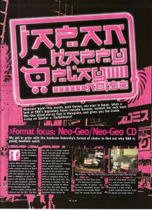 RetroGamer Magazine - Neo Geo System Review 1 of 3