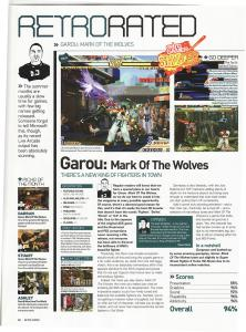 Garou MOTW XBLA Review