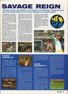 Maximum Magazine - Mini Reviews - Savage Reign, Double Dragon and Super Sidekicks 3