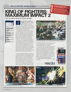 Games Magazine - KoF MI2 PS2 Review