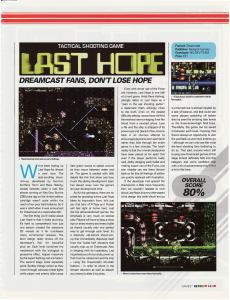 Games Magazine - Last Hope Review