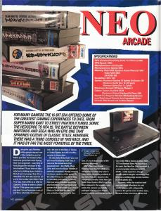 Games Magazine - Neo Geo Classic Machine Feature 1 of 6