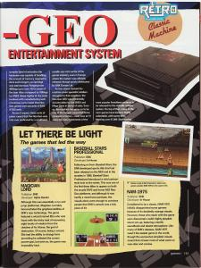 Games Magazine - Neo Geo Classic Machine Feature 2 of 6