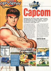 Capcom Vs. SNK 2 Dreamcast Review from Dreamcast Magazine 1 of 3