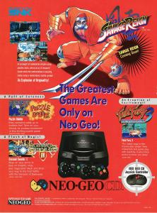 "NGCD Advert ""The Greatest Games..."""