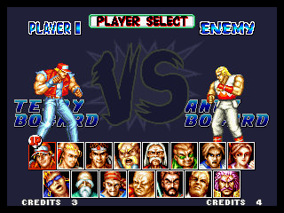 Fatal Fury Special Select