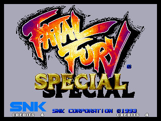 Fatal Fury Special Title