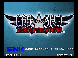 Mark of the Wolves Title