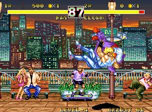 Fighters History Dynamite Screenshot 3