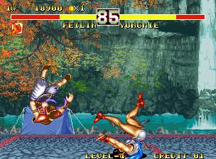Fighters History Dynamite Screenshot 4