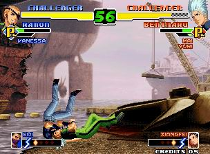 KOF 2000 Screenshot 2